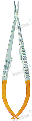 4061 - Micro port-ac cu carbura de tungsten, 5-0 - 8-0 CASTROVIEJO - 14 cm0