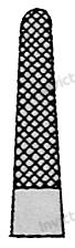 4072 - Port-ac drept cu carbura de tungsten MATHIEU 3-0 - 5-0 - 14 cm [1]