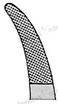 5561 - Port-ac cu carbura de tungsten angulat 4-0 - 6-0 CRILE-WOOD - 15 cm1