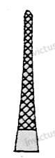 6537 - Port-ac cu carbura de tungsten, 4-0 - 6-0 MATHIEU - 14 cm1