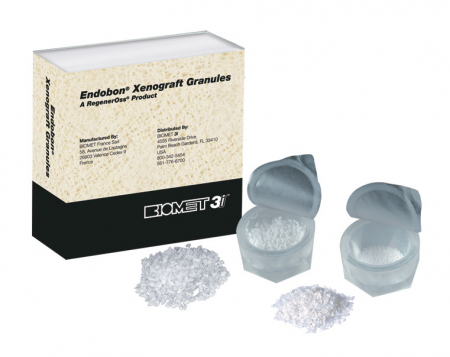 Endobon XENOGRAFT, BIOMET 3i - Granulație Mică, Cantitate 2,0 ml (2,0 cc)1