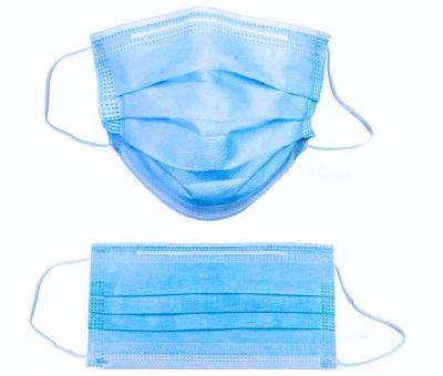 Măști MEDICALE tip 1 – albastre (cutie cu 50 buc.) - BFE > 95%1