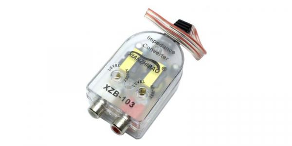 Adaptor auto High-Low pentru conversie semnal audio la semnal de linie RCA [0]