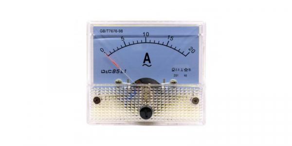 Ampermetru analogic de panou 20A curent alternativ [0]
