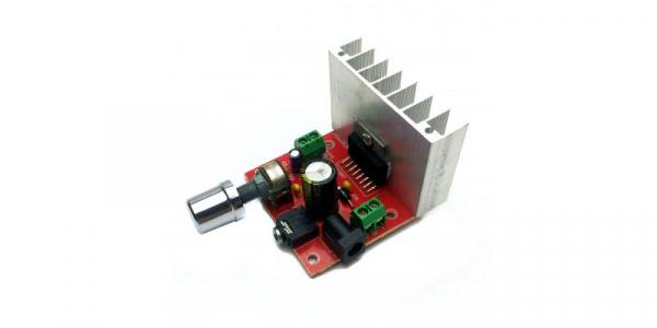 Amplificator 2X15W cu TDA7297 [0]