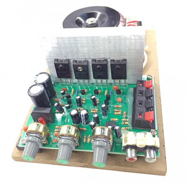 Amplificator audio AC-AMP (2 x 60W) cu traf toroidal [2]