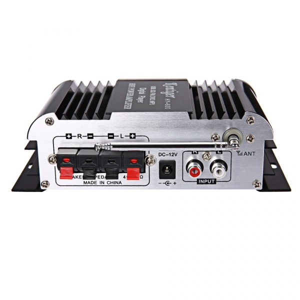Amplificator audio  HY-600 cu radio FM, USB, microSD [1]