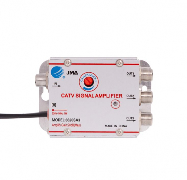 Amplificator de semnal TV 3 iesiri 8620SA3 [1]