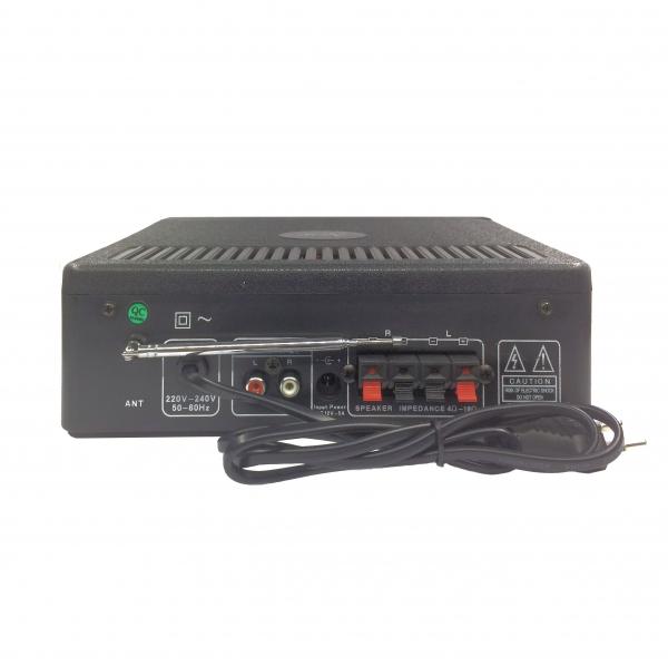 Amplificator Kinter-009 Hi-Fi Stereo Karaoke USB, MMC, SD, Radio FM [1]