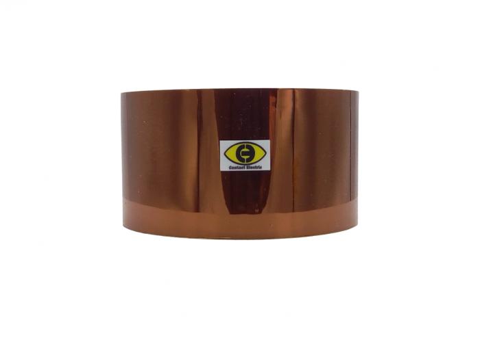 Banda izolatoare termorezistenta autoadeziva poliimida 60mm x 30m 280° C [0]