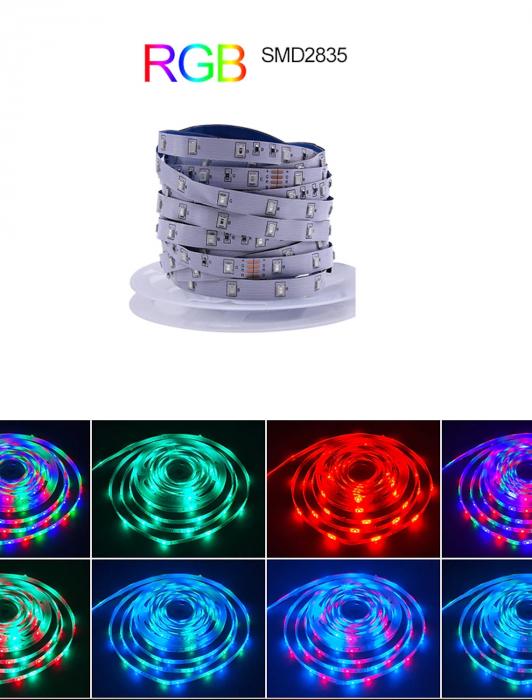 Banda LED 3528 RGB 120led/m 5mm IP20 [1]