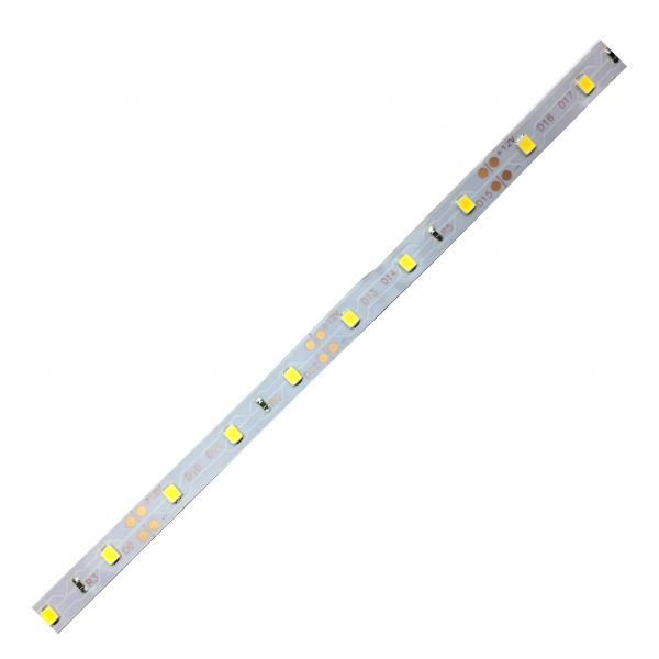 Banda LED 3528 Alb Cald 12V, 60 LED/m, IP20 (NW) [1]