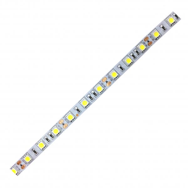 Banda LED 5050 Alb Natural 12V, 60 LED pe metru, IP20 [1]