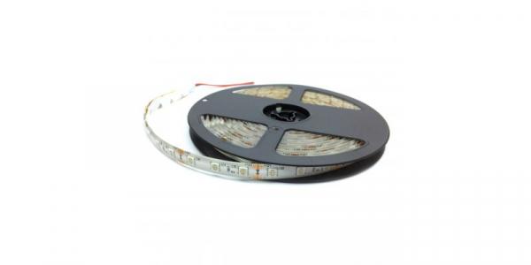 Banda LED 5050 Albastru 12V, 60 LED/m, IP65 (WP) [0]
