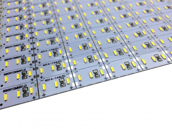 Banda led HARD STRIP led 4014 alb cald,  aluminiu, 144 LED/m, alimentare 12V [1]