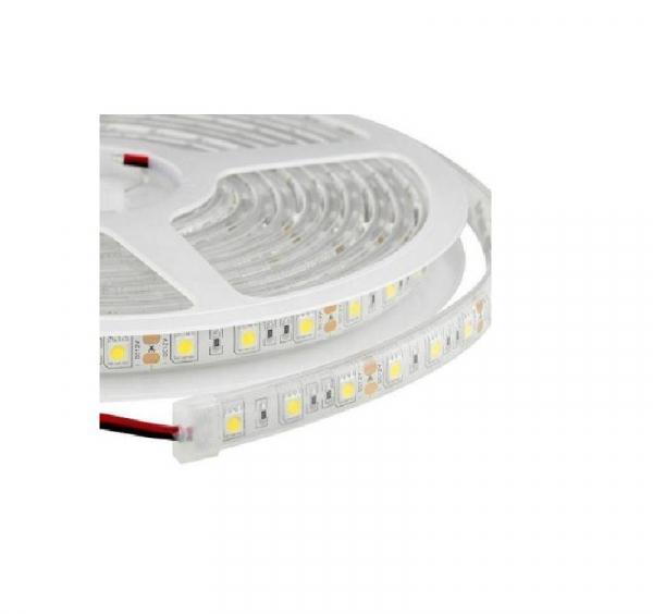 Banda LED submersibila, SMD 5050 Alb Cald, 60 LED-uri pe m, IP68 [0]