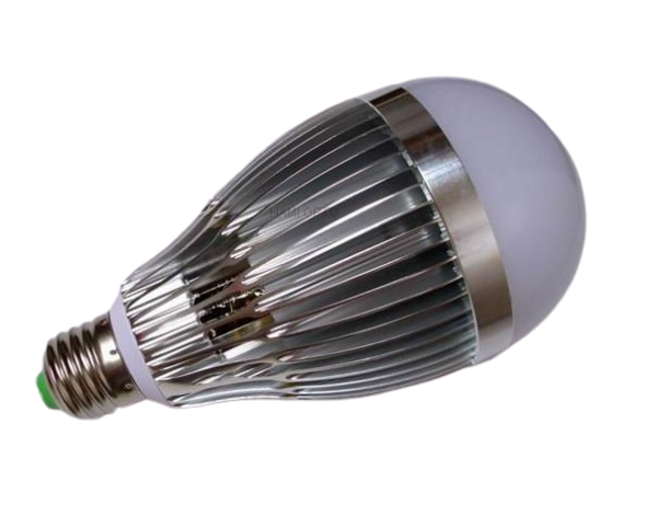 Bec E27 LED 12W cu radiator [0]
