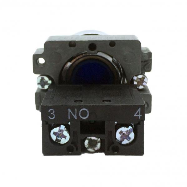 Buton albastru cu apasare cu un contact si 2 pozitii LA167-B2-BA61 [1]