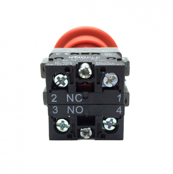 Buton de urgenta STOP cu doua contacte LA167-B2-BT45 [1]