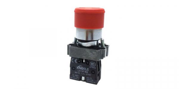 Buton de urgenta STOP cu un contact si 2 pozitii LA167-B2-BS442 [0]