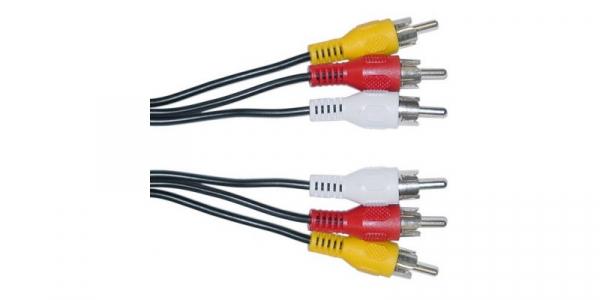 Cablu 3RCA-3RCA 1,5m [0]