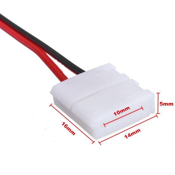 Cablu compatibil cu banda LED 5050 cu 2 clipsuri [1]