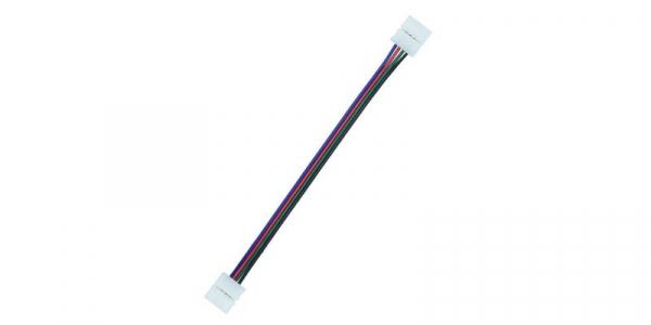 Cablu compatibil cu banda Led RGB 5050 cu 2 clipsuri [0]