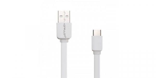 Cablu plat USB-Type-C 2.1A Konfulon S33 de 1.2m [0]