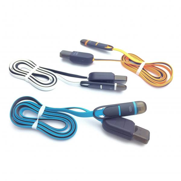 Cablu USB 2 in 1 cu afisaj voltaj si amperaj [1]
