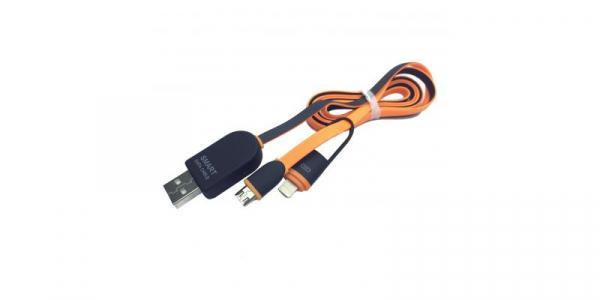Cablu USB 2 in 1 cu afisaj voltaj si amperaj [0]