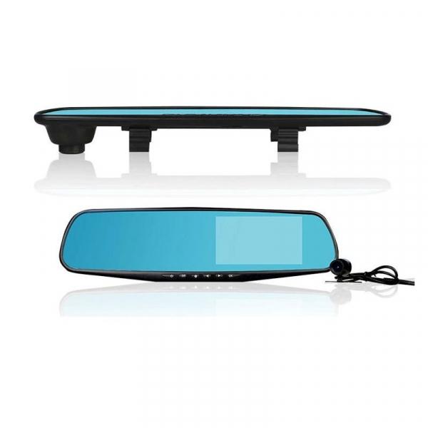 Camera auto cu DVR si display in oglinda retrovizoare universala, FullHD, neagra [1]