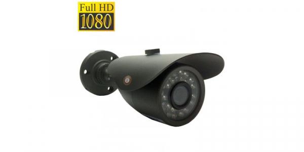Camera de supraveghere bullet FullHD AHD/HDTVI/HDCVI, Senzor Sony 2.0MP, IR 20m (24 LED), Lentila 3.6mm [0]