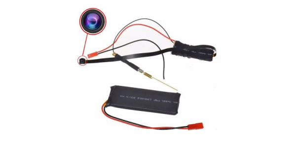 Camera WiFi 1080P AHD discreta, stocare pe card microSD cu aplicatie smartphone S06 [0]