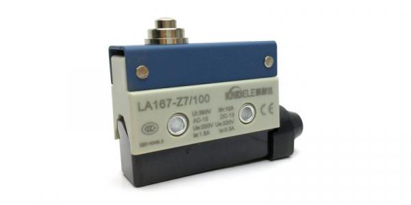 Comutator limitator cu push button fara retinere Kenaida LA167-Z7/100 [0]