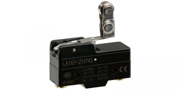 Comutator limitator cu rola la 90 de grade Kenaida LA167-Z1/743 [0]