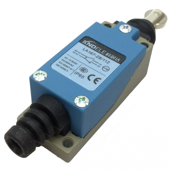 Comutator limitator cu rola metalica longitudinala Kenaida LA167-Z8/112 [1]