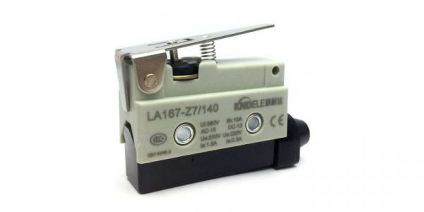 Comutator limitator de cursa cu lamela scurta 55mm lungime Kenaida LA167-Z7/140 [0]
