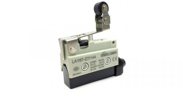 Comutator limitator de cursa cu lamela scurta si rola la 90 de grade Kenaida LA167-Z7/144 [0]