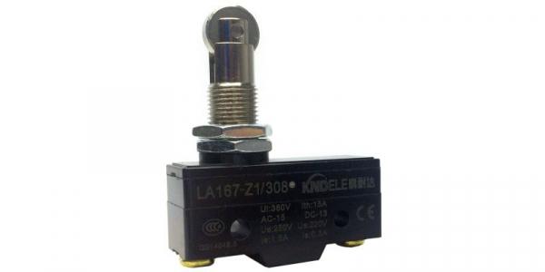 Comutator limitator de cursa cu rola 36mm inaltime LA167-Z1/308 [0]