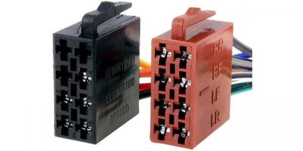 Conector ISO cu cablu [0]