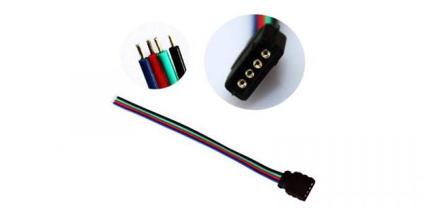 Conector RGB cu fire [0]
