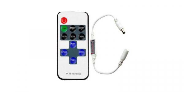 Controler banda LED monocrom, telecomanda RF 11 taste [0]