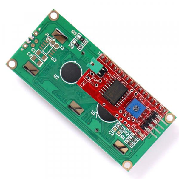 Display LCD 1602 albastru + adaptor I2C  OKY4005 [1]