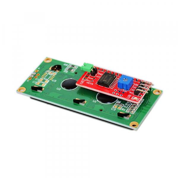 Display LCD 1602 albastru + adaptor I2C  OKY4005 [3]