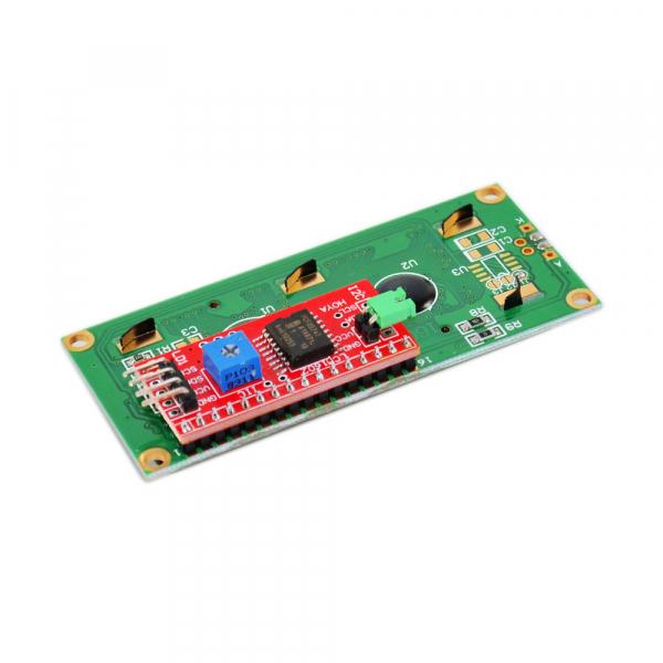 Display LCD 1602 albastru + adaptor I2C  OKY4005 [2]