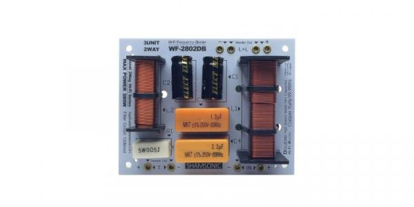 Filtru pasiv subwoofer profesional Shamsonic WF-2802DB, 2 canale, 380W [0]