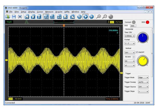 Hantek 6074BC Osciloscop USB PC 70Mhz Bandwidth [3]