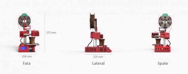 Imprimanta 3D SH105L 3 in 1 (Printare+Gravare Laser+Decupare Laser) [7]