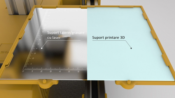 Imprimanta 3D SH105L 3 in 1 (Printare+Gravare Laser+Decupare Laser) [5]
