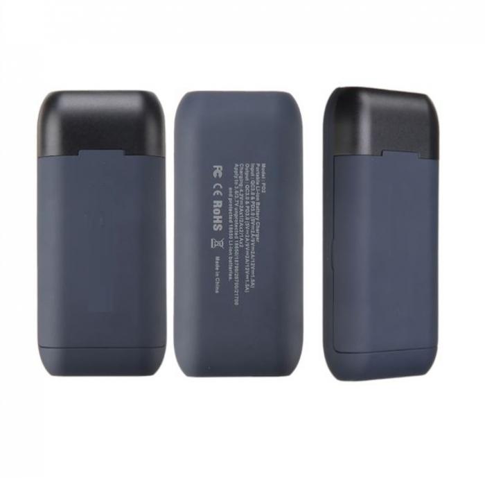 Incarcator portabil acumulatori litiu cu functie de powerbank  PD2 [1]